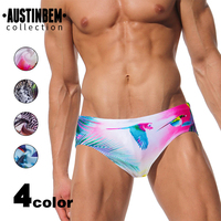 1a555ebea5 AUSTINBEM Sexy Men's Swimsuit Explosion Design Maillot De Bain Spa Mayo  Swimming Suit Sexy Gay Badpak