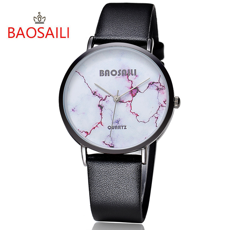 ᑐBAOSAILI Top Brand Red Crack Φ_Φ White White Marble ...