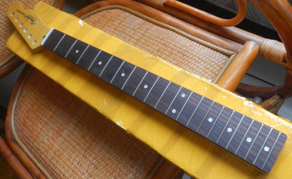 En gros touche en Palissandre Télé guitare cou telecaster guitare cou 21 Frettes livraison gratuite