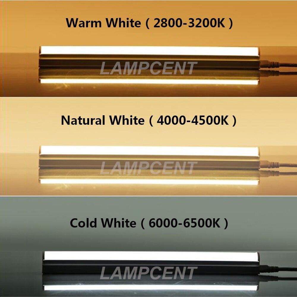 2FT 3FT 4FT 5FT 6FT 8FT интегрированный T5 Светодиодная трубчатая лампа магазинный светильник 15/20 Вт, 30 Вт, пакет - 2