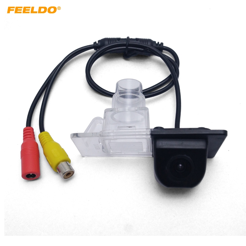 FEELDO 1PC Car Parking Rear View font b Camera b font For KIA Ceed European Version