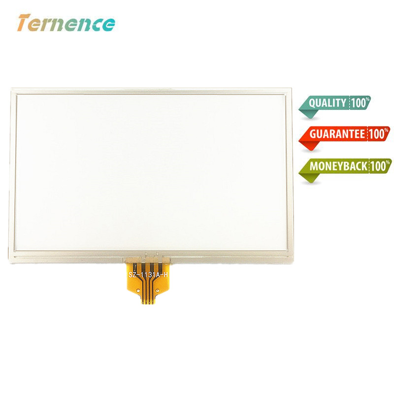 Skylarpu New 4.3-inch Touch Screen Panels For TomTom VIA 110 4EH45 GPS Touch Screen Digitizer Panel Replacement 105mm*65mm