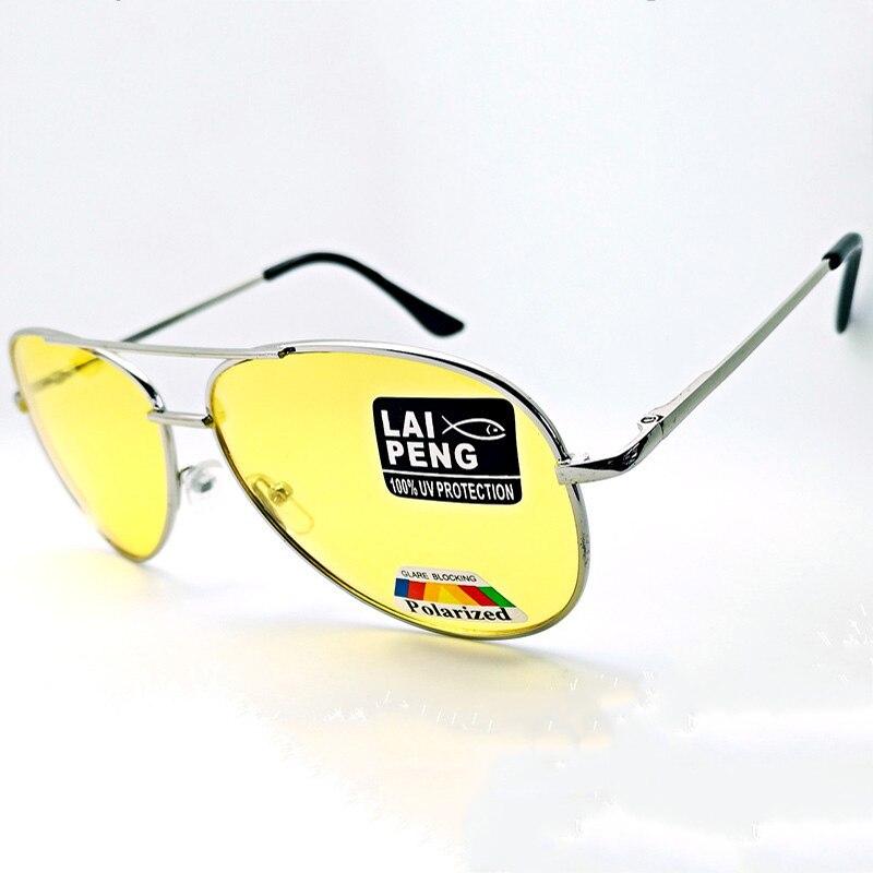 e6d2914160a Best buy Sunshining Glasses Yellow Sunglasses Men Women Night Vision  Goggles Driving Glasses Driver Aviation Sun Glasses UV400 online cheap