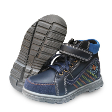 new 1pair fashion boot boy Leather Children shoes seanker +inner 13.5-20.5cm,Super Quality Kids shoes