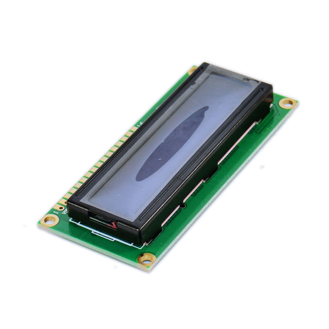 1pcs/lot Lcd 1602 Yellow Screen Character LCD Display Module Blacklight And Black Code New