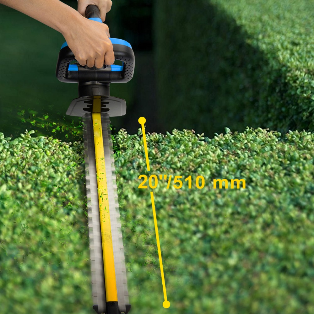 Electric Hedge Trimmer Pruning