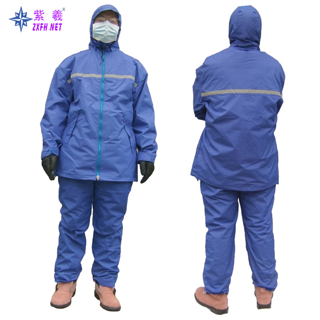 US $72 0  Cold storage winter coat Cryogenic winter coat Warehousing  logistics work clothes waterproof Wind warm clothing-in Safety Clothing  from