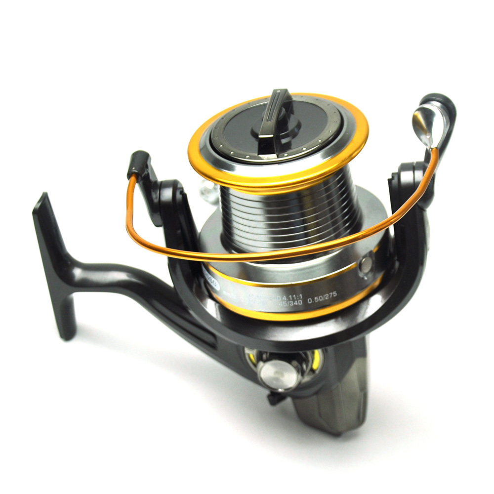 LJ9000 Surf Casting Spinning Fishing Reel Long Distance Cast Sea Fishing 12+1 BB image