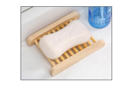 드레인 랙 욕실 비누 접시 드레인 트레이 홀더와 100 개/몫 나무 비누 접시-에서휴대용 비누판부터 홈 & 가든 의  그룹 1