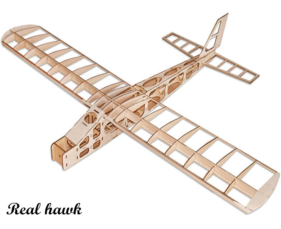 RC Plane Laser Cut Balsa Wood Airplane Fixed wing exercise machFrame without Cover Wingspan 1300mm Balsa Wood Model Building Kit все цены