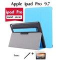 Para a apple ipad pro 9.7 coldre caso tampa do suporte ipad air3 tablet é handheld elétrico multifuncional tablet da tampa do caso shell