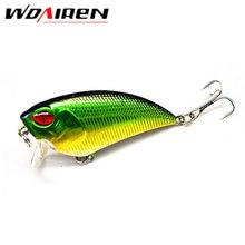 1Pcs wobbler crankbait 5.5cm 6.6g Fishing lures plastic hard artificial lure Perch fish pesca hooks tackle japan 8 colors YR-277