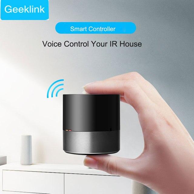 2019 nuevo Geeklink Smart Home WiFi + IR + 4G control remoto inteligente Universal para Ios Android funciona con alexa