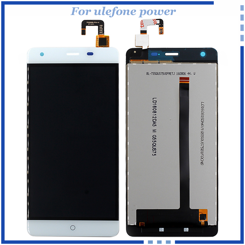 For Ulefone Power LCD Display Touch Screen Digitizer Assembly Repair Parts Smartphone LCD display For ulefone power Free Tools for htc one m9 lcd display screen with touch screen digitizer assembly repair parts gray silver gold color free shipping tools
