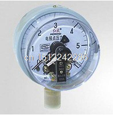 Electric Contact Pressure Gauge Universal Gauge M20*1.5 150mm Dia 0-6Mpa factory electric contact thermometer gauge full specification sx411 page 2