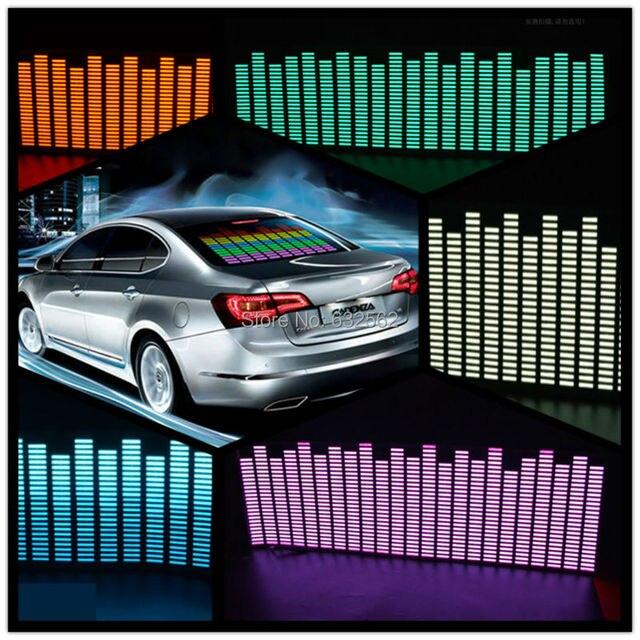 Okeen 9025 cm 5 colour music rhythm eq car sticker music equalizer on car