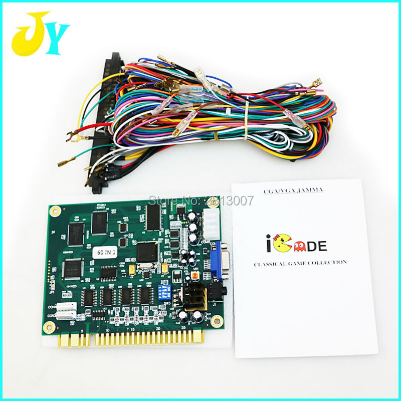 us $41 62 10% off free shipping jamma 60 in 1 classical game board with 28 pin jamma wiring harness for diy arcade cabinet machine in coin operated  ultracabs arcades jamma 60 in 1 guide