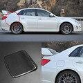 3D настоящая карбоновая Крышка для газового топлива  накладка на дверь  наклейка для Subaru Impreza 2008-2011
