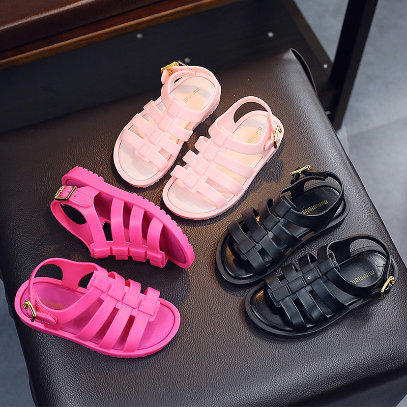 Mini Melissa 2017 Zomer Nieuwe Romeinse Schoenen Meisjes Sandalen - Kinderschoenen - Foto 4