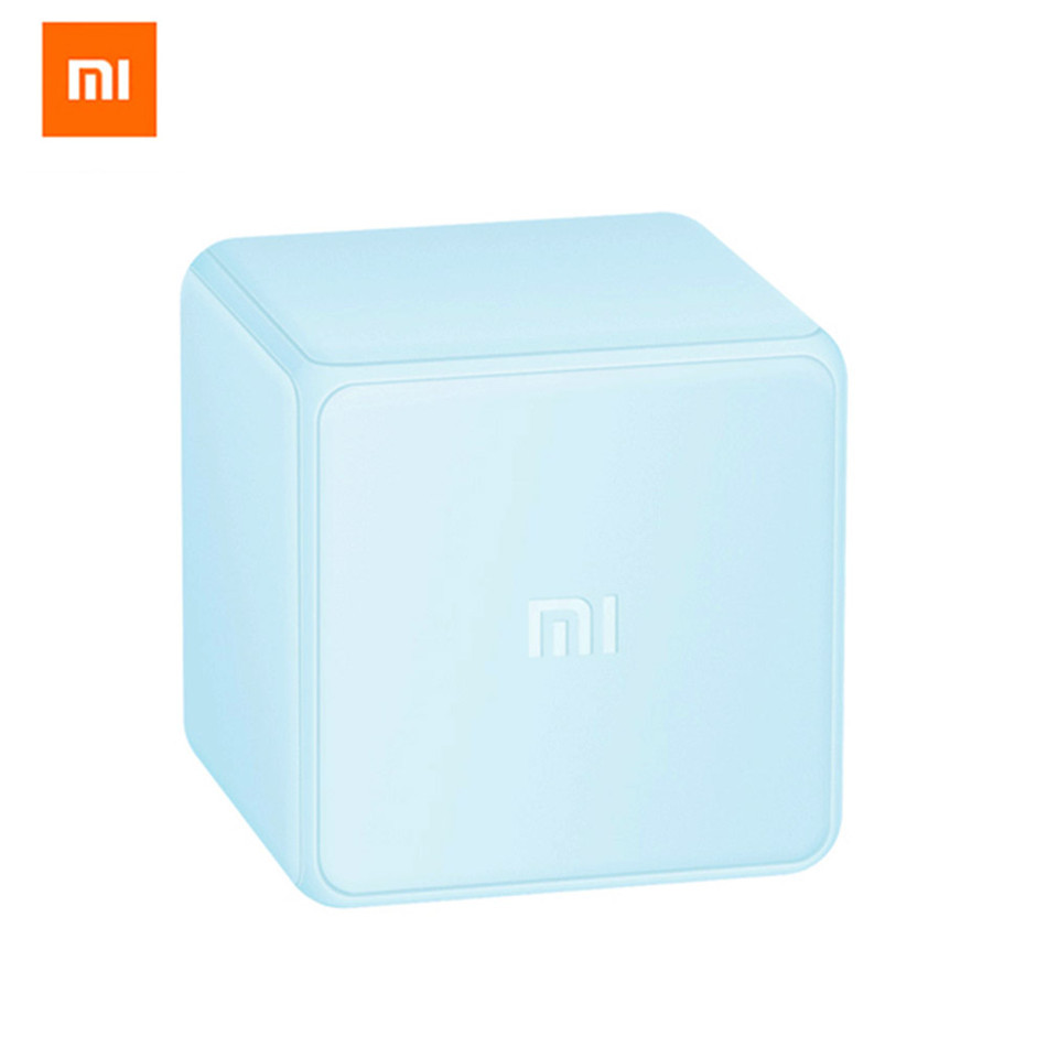 original xiaomi mi cube controller zigbee version controlled by six actions with phone app for. Black Bedroom Furniture Sets. Home Design Ideas