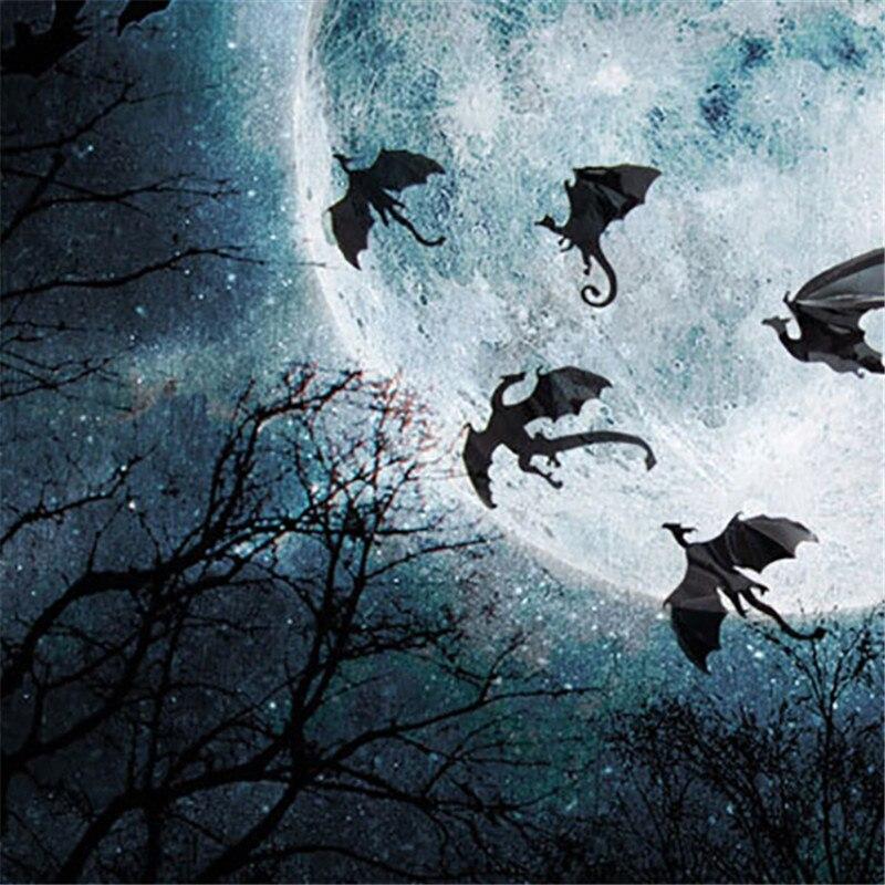 7pcs/set Halloween Fantasy Decor Dinosaurs Boys Rooms Game of ...