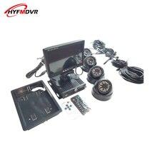 все цены на School bus DVR integrated vehicle monitoring system 720P full set of air head interface equipment NTSC/PAL standard онлайн