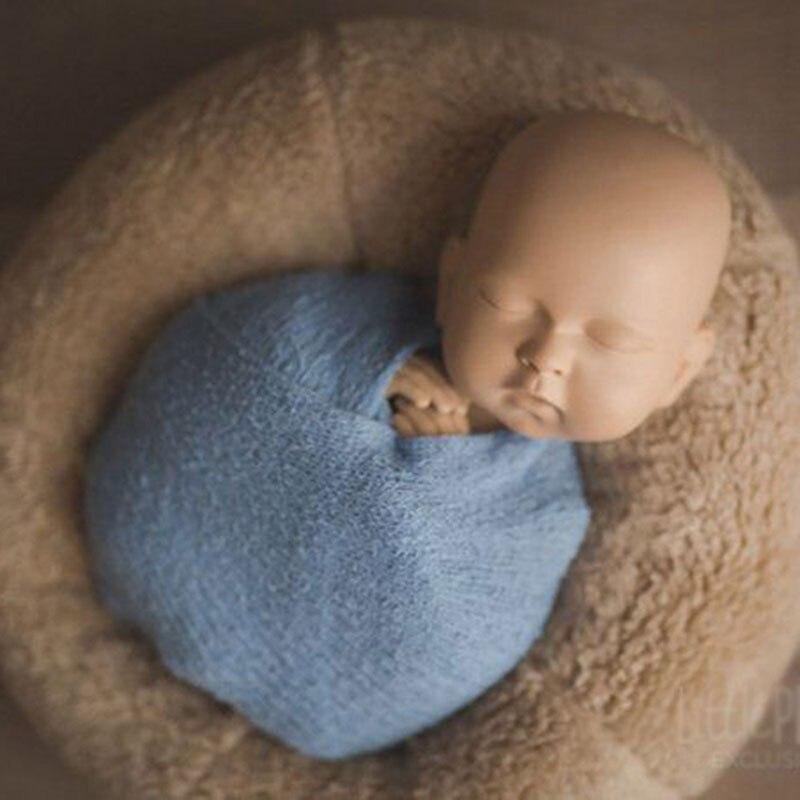 2019 Newborn Photography Props Baby Posing Wraps Professional Soft Wrap for Fotografia Accessories Studio Photo Props 3 Colors
