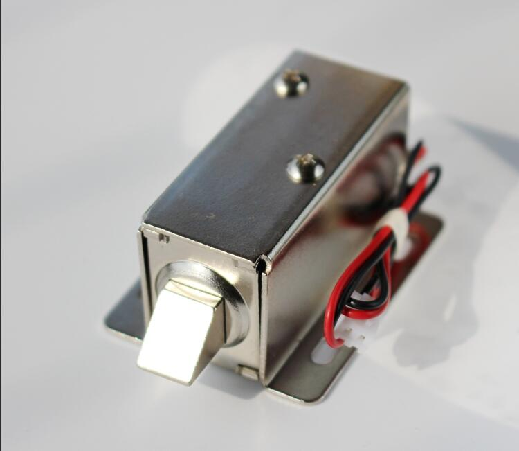 Electronic Door Lock Mini Magnetic Locks DC 12V/24V Lock Access Control Electromagnetic Lock Automatic Barrier for Cabinet Drawe