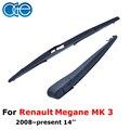 Oge limpialuneta brazo y hoja profesional 14 ''para para renault megane mk 3 rrn30-3b
