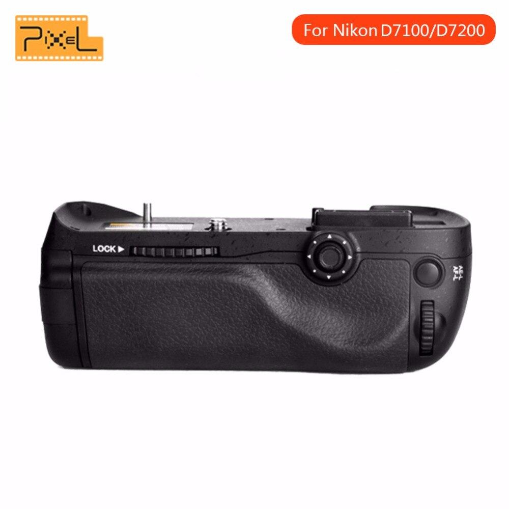 Pixel Vertax D15 Verticale Batterie support de prise en main Pour Nikon D7100 D7200 DSLR caméra avec EN-EL15 batterie comme MB-D15 MBD15 MO D15