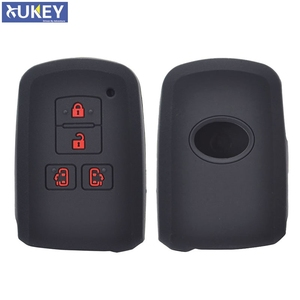 Image 1 - Voor Toyota Sienta Alphard Voxy Noah Esquire Harrier Siliconen Remote Key Case Fob Shell Cover Skin 4 Knop 2015   2018 2019