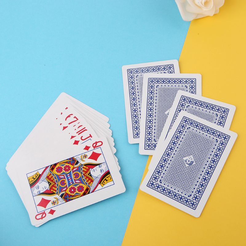 Magic Props Secret Marked Poker Cards Perspective Playing Cards Simple But Unexpected Magic Tricks image