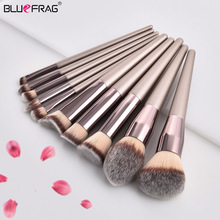 2018 Makeup Brush Set Foundation Berus Eyeshadow Mata Serbuk Eyeliner Eyeliner Lip Makeup Berus Alat Kecantikan Kosmetik 10/6/5/4/2