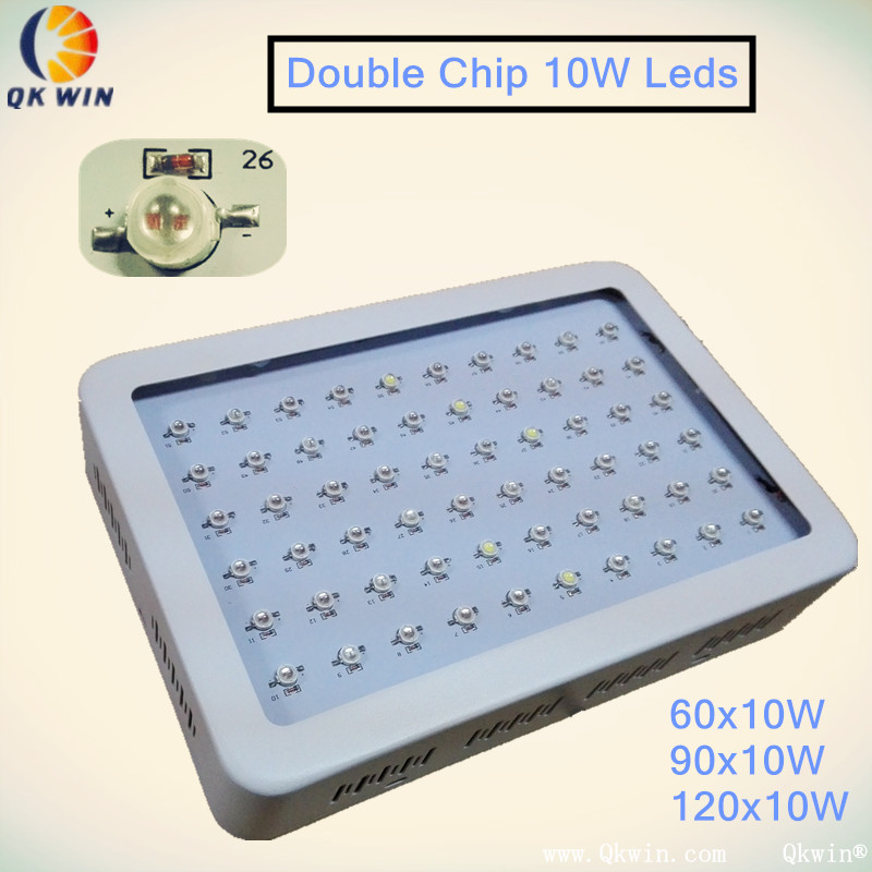 On sale Mayerplus 600W Double Chip LED Grow Light Full Spectrum For 410-730nm Indoor Plants and Flowering High Yield Droshipping