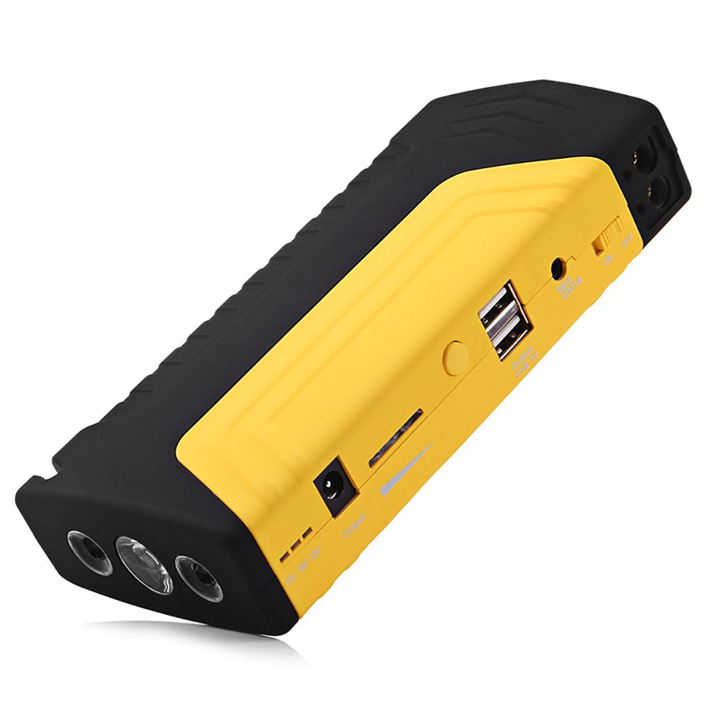 12000mAh Car Jump Starter 12V Portable Starting Device Power Bank Car Charger with LED Lighting Charging For Car Battery Booster
