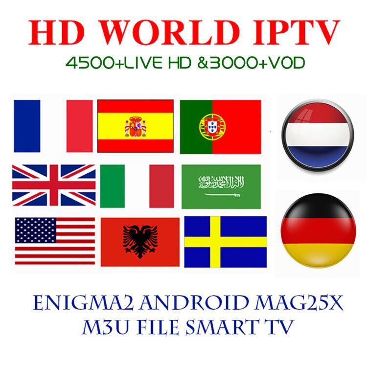 IPTV M3u Subscription Iptv UK German French Arabic Spanish Italy VOD Arabic Premium For Android Box Enigma2 Smart TV Linux Xxxxx