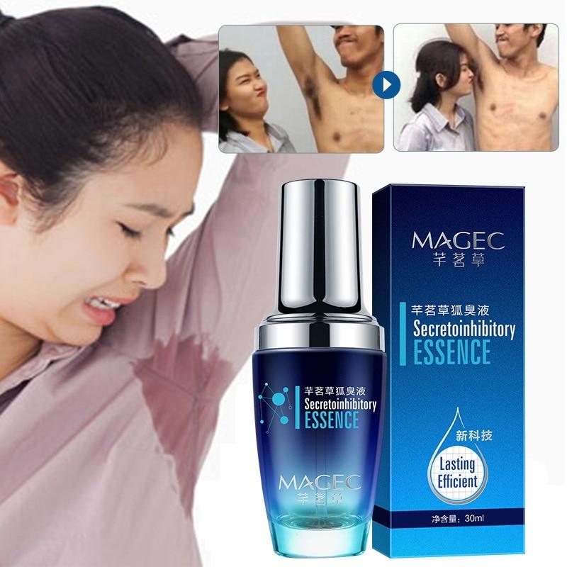 Body Spray Remove Body Odor Hyperhidrosis Composition Effective Underarm Hircismus Cleaner Antiperspirant Formula Deodorant KH12