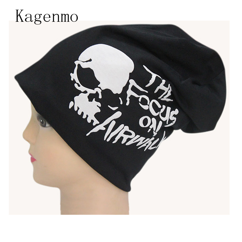 Kagenmo Turban Hip hop dance turtleneck cap fashion pirates hat clothes cotton caps new brand skull Beanies male Skullies female
