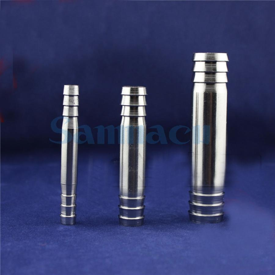 Multiple 304 Stainless Steel Equal Barb Hose Tail Connector Pipe Fitting