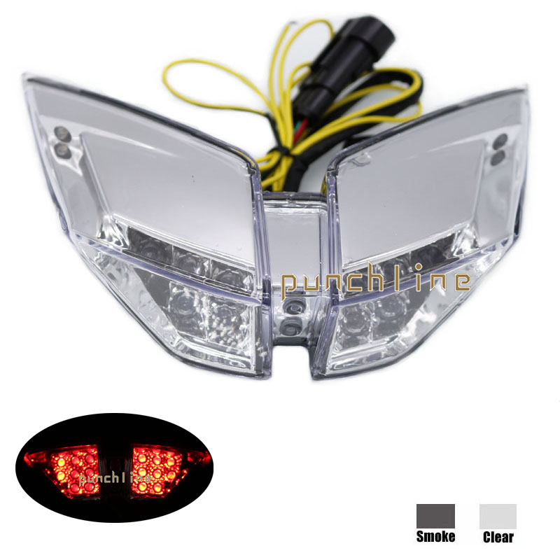 For MV AGUSTA F4 2010-2014 Motorcycle Accessories Integrated LED Tail Light Turn signal Blinker Lamp Clear motorcycler accessories integrated led tail light turn signal blinker for suzuki boulevard m109r le vzr1800z 2007 2008