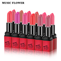 Music flower lipstick Moisturizer Smooth Lip Stick Long Lasting Charming Lip Lipstick Cosmetic Beauty Makeup 12 colors