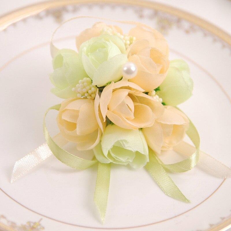 Creative Wedding Supplies Bride Wrist Flower Bridesmaid Korean New ...