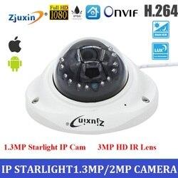 NOUVELLE caméra IP 1.3mp starlight IP cam pour ascenseur métal cctv caméra avec 3mp HD Lentille Onvif nuit vision caméra pour la maison