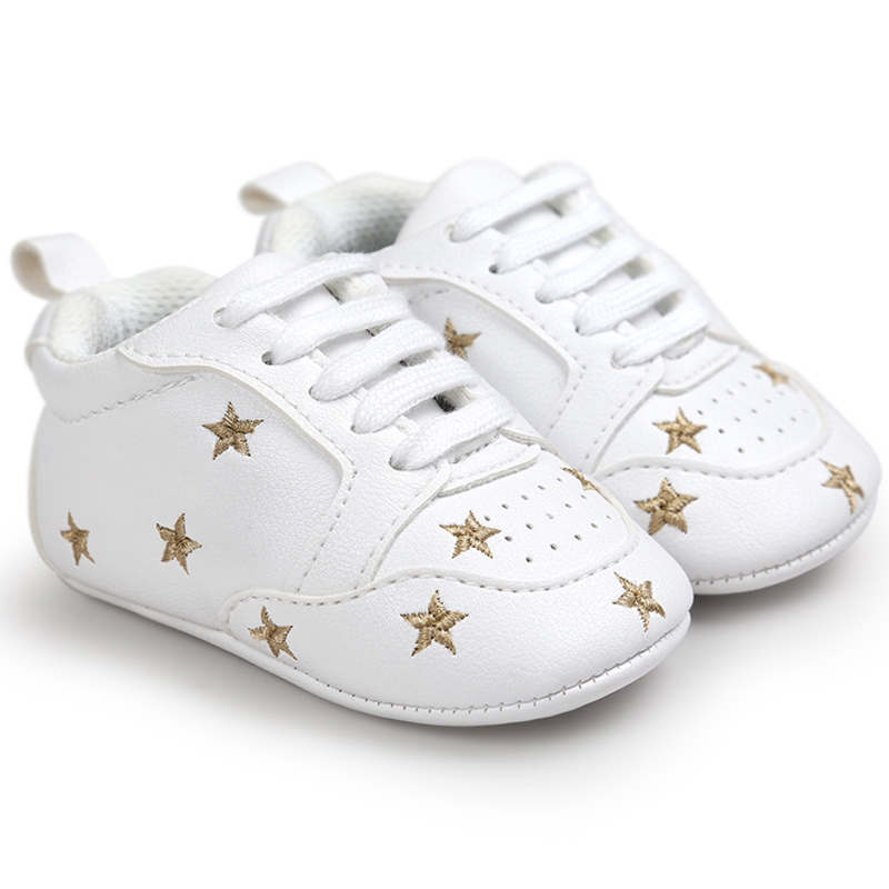 Romirus Brand New Arrive Baby First Walkers Baby Soft Bottom Fashion Moccasin Newborn Babies Shoes PU Leather Prewalkers Boots