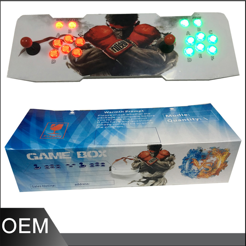 Tekken video cabinet machine fighting arcade game machine using pandora box 4S+ pandora box arcade fighting game ultimate marvel vs capcom 3 ps3 games video game arcade kit for coin acceptor arcade machine