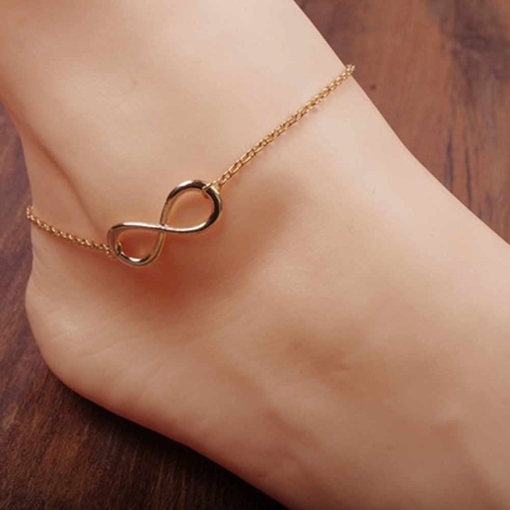 gemstone big leg bracelet hot chain beach summer anklets sexy selling statement product women sandal ankles crystal boho style for anklet store jewelry