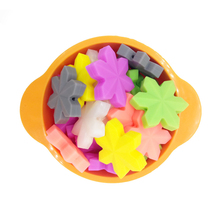 5pcs/pack Silicone Beads Baby Products Snowflake Beads