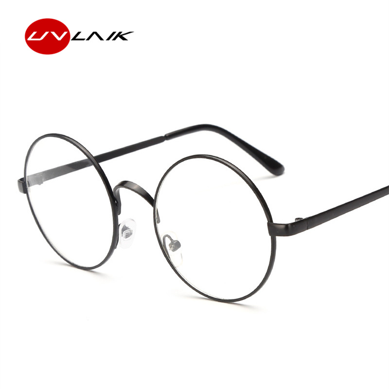 aca0c9dad12db UVLAIK Round Spectacle Glasses Frames For Harry Potter Glasses With Clear  Glass Women Men Myopia Optical Transparent Glasses-in Eyewear Frames from  Apparel ...