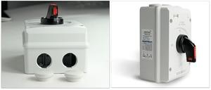 Image 5 - DC 1000 V 32A SISO PV DC Trennschalter für Solar System ON OFF Transer IP66 Wasserdichte Isolator schalter mit ABS Box