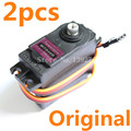 2pcs Original TowerPro MG946R Servo Digital DIGI High Torque 13kg Full Metal Gear 55g Upgrade MG945 For RC Robot Car